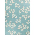 "Surya Jill Rosenwald Fallon Robin's Egg Blue (FAL-1063) Rectangle 8'0"" x 11'0"""
