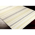 "Surya Frontier Ivory (FT-393) Square 0'6"" x 0'6"""