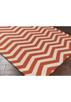 Surya Frontier Rust Red (FT-456) Square 1'6