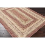 "Surya Jamestown Brick Red (JAM-4300) Oval 8'0"" x 10'0"""