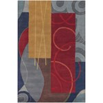 "Chandra Bense (BEN3015-576) 5'0""x7'6"" Rectangle Area Rug"