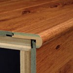 "Armstrong Coastal Living:  Flush Stair Nose Oyster Bay Pine - 94"" Long"