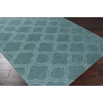"Surya Mystique Teal Green (M-422) Square 0'6"" x 0'6"""