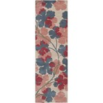 "Surya Paule Marrot Paule Marrot Parchment (PMT-1018) Rectangle 2'6"" x 8'0"""