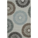 "Surya Rain Silvered Gray (RAI-1085) Rectangle 5'0"" x 8'0"""