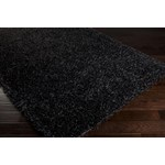 "Surya Vivid Jet Black (VIV-801) Rectangle 1'9"" x 2'10"""